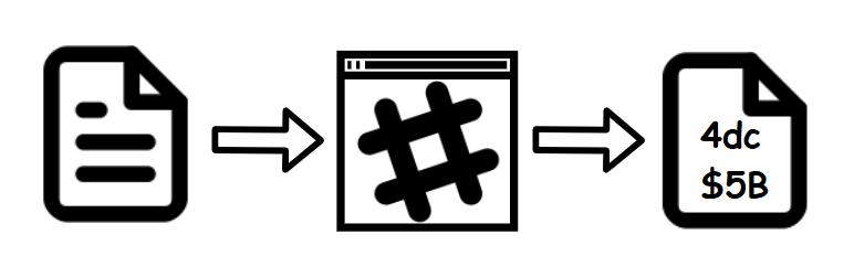 Diagrama de uma Hash